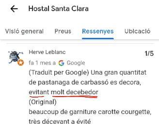 Restaurant santa clara